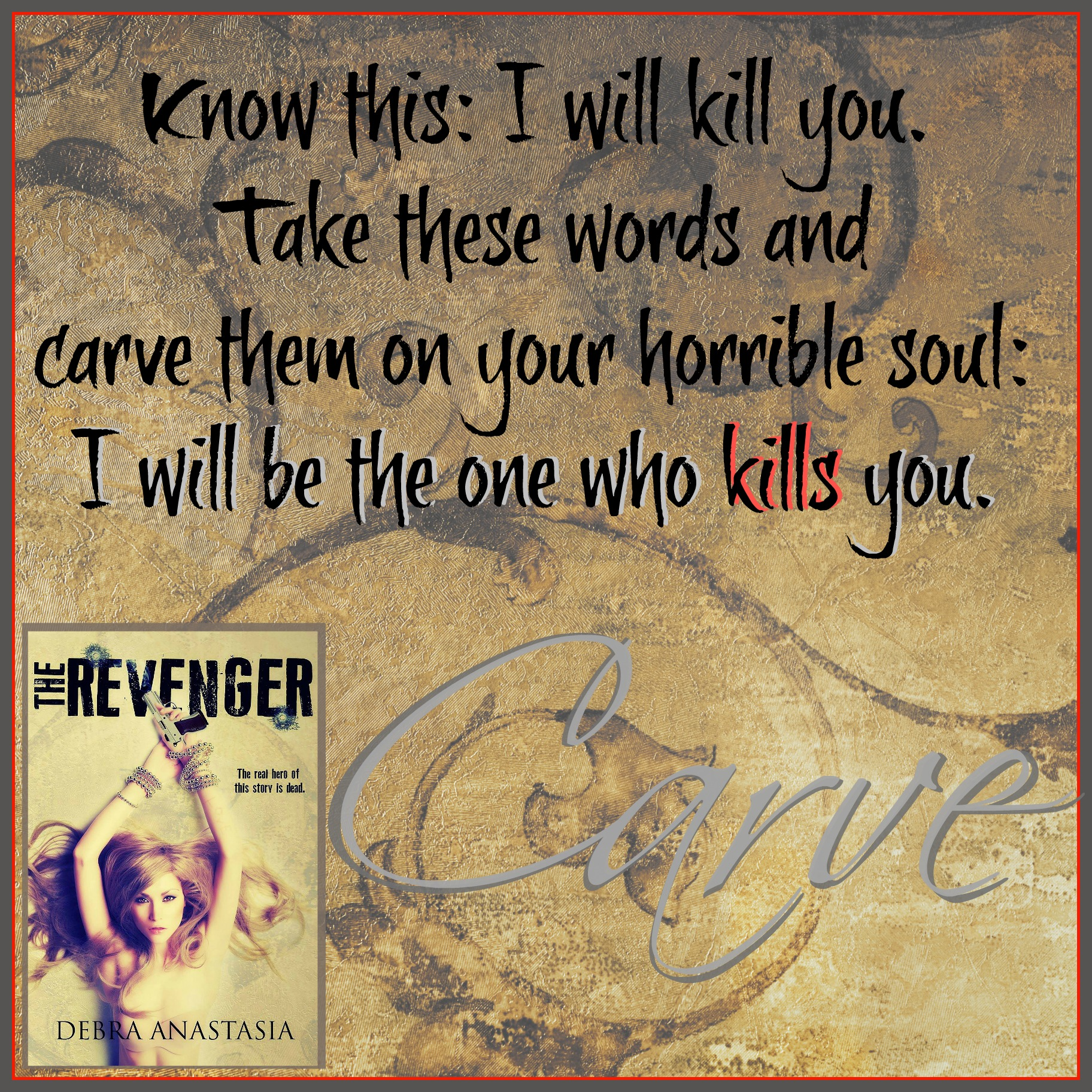 Carve The Revenger Teaser D Cover