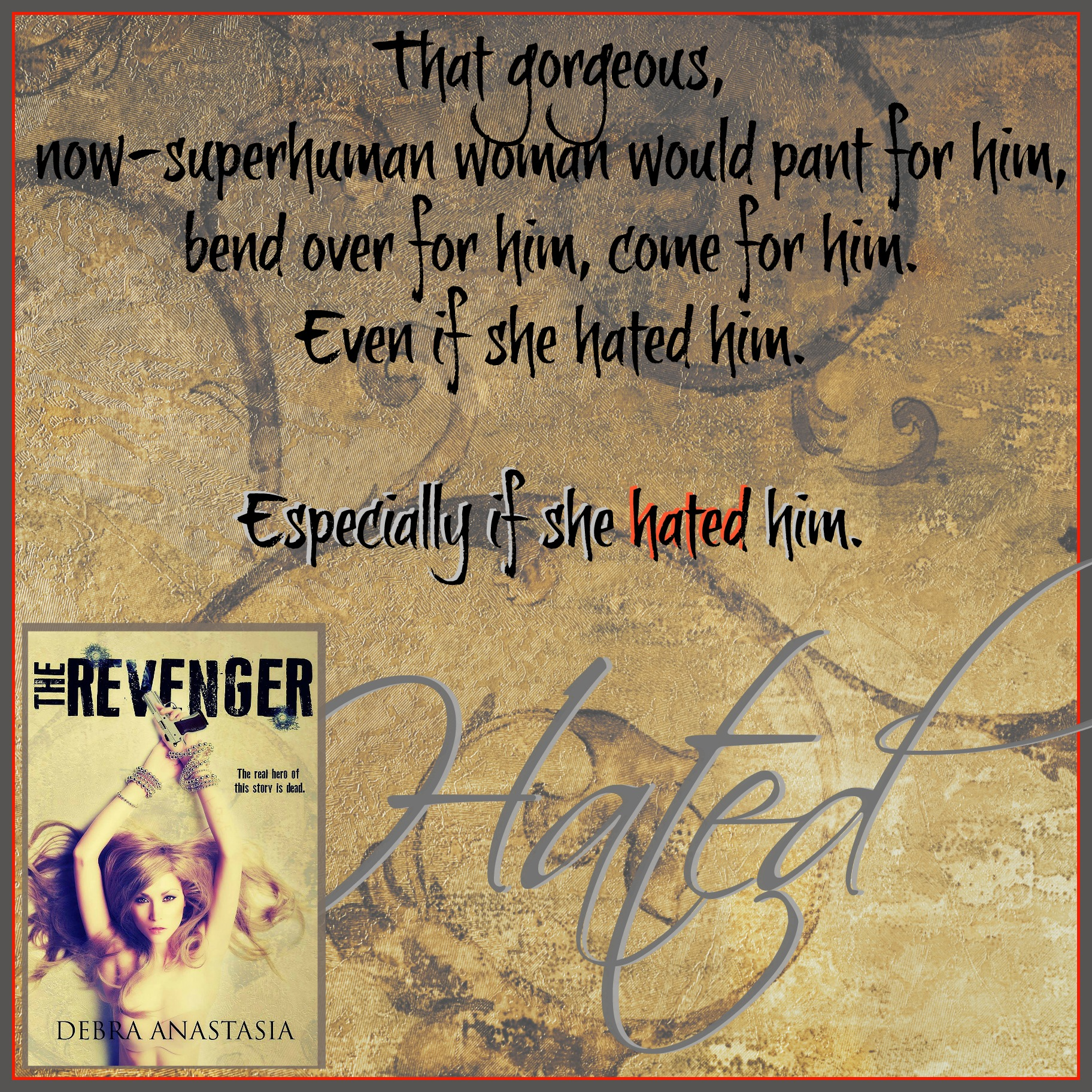 Come Hated Revenger Teaser E cover